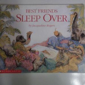 Best Friends Sleep Over Book